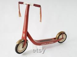 1960 TROTTINETTE RADIO FLYER retro red