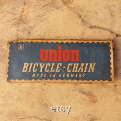1 Pc Original UNION chaîne vintage vitesse unique pour vélo vintage Livraison gratuite