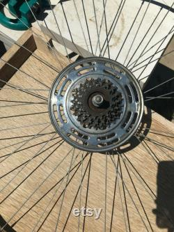 24 Bicycle Wheel Spoke photo affichage affichage accessoire artisanat lustre