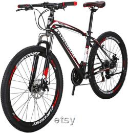 27.5 Roues Vtt Daul Freins à disque 21 Speed Mens Bicycle Front Suspension VTT