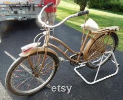 40s 50s JC Higgins vélo, Jet Rocket, comprend des accessoires comme indiqué, vélo pour dames, pour Pick Up Only