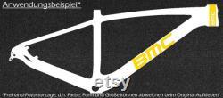 Autocollant de vélos BMC set 17-teilig autocollant de cadre vélo pour la reconstitution des réparation, vélo de 17 Stickers Autocollants de cadre pour restauration