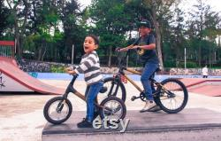 Bamboocycles 12 bambou fibre de carbone enfants vélo Bicini o