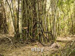 Bamboocycles Tulum 26 bambou fibre de carbone Beach Cruiser