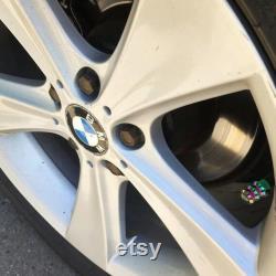 Bouchon de valve de pneu lisse d huile Le Dice 2PCS BMX MTB parts Touring Cruiser VTT Schrader Valve vélo moto voiture Pick-up
