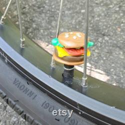 Bouchon de valve de vélo Cheeseburger