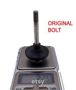 Boulon léger et disque pour bloc de suspension Brompton