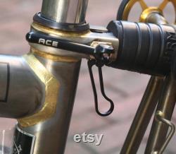BromPTON Titanium Seatpost Clamp BLACK Lightweight Seat Post Clamp
