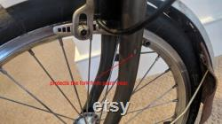 Cable Fender Protector pour BROMPTON en OR