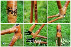 Cadre du vélo en bambou