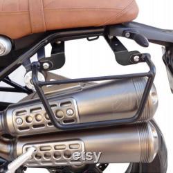 Cadre en acier en finition chromée ou noir satin pour BMW Nine T.