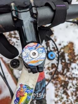 Casquette haut de la fourche à vélo Mont Blanc