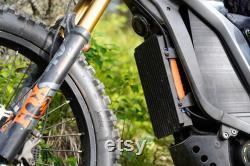 Couverture complète ASI BAC4000 Kit de montage Noir CNC 6061 aluminium Mount Bac4k Nouveau Made In USA pour Sur Ron Segway Electric Bike