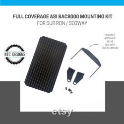 Couverture complète ASI BAC8000 Kit de montage Noir CNC 6061 aluminium Mount Bac8k Nouveau Made In USA pour Sur Ron Segway Electric Bike