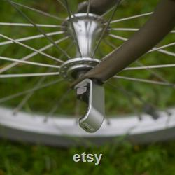 Crochet en aluminium E pour BROMPTON argent léger