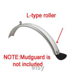 Custom BROMPTON Lightweight Mudguard Roller L Version ROSE GOLD