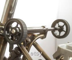 Easy Wheels Extender ver 2.0 Pour BROMPTON 2 Roues Améliorée Version BLACK