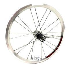 Ensemble de roues léger pour BROMPTON en argent