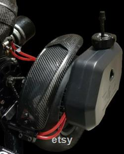 Fender en fibre de carbone pour scooter GSR Goped
