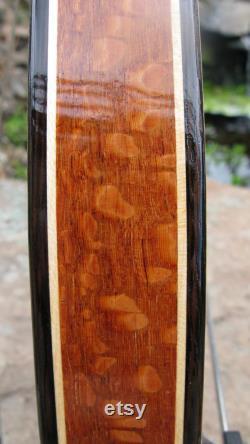 Garde-boue en bois en bois leopard, Wenge et Érable. Des ailes de vélo. Gardes de boue, bambou, recyclage, vélo, vélo ajouter, vélo de banlieue