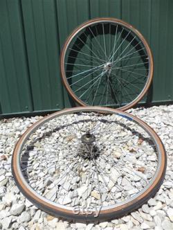 Guerciotti Racing Road Track Paolo Bicycle Tire Wheels Ambrosio Durex 19 Elite
