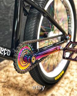 Huile slick Sprocket 25T Single-speed cog bike parts 1X Chainrings bmx sprocket riders gift bmx accessoire street bmx parts fix bike gift