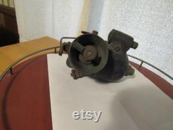 Indien PowerPlus carburateur en laiton coulé, circa. 1916-1919 61ci -HX-153. Utilisé, vendu tel qu il est.