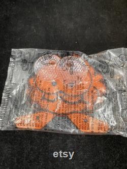 Kellogg s Cereal Premium Orange Semi-Smiling Garfield Bike Reflector violoncelle scellé 1978