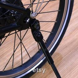 Kickstand en titane pour BROMPTON Léger 88g Dahon Birdy Compatible BLACK EDITION