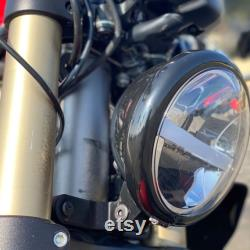 Kit de conversion de phares Ducati Monster 696 796 1100S 1100Evo Phare Mount Headlight Housing (Lampe frontale LED non incluse)