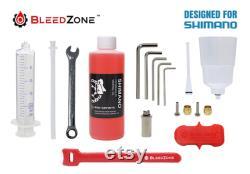 Kit de purge pour freins routiers hydrauliques SHIMANO avec huile minérale Choisissez votre kit