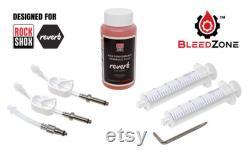 Kit de saignement pour les composants de suspension RockShox Reverb Stealth, Reverb 1x et X-Loc