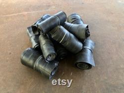 Larges tubes intérieurs roulés et batés pour l art