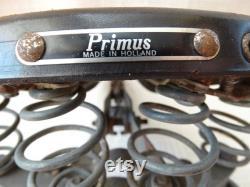 Lepper Primus Holland Braun Fahrrad Sattel Touren Oldtimer Echtleder Vintage