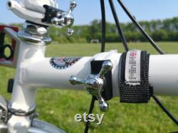 Leviers de serrage de charnière andPlaques magnétiques pour BROMPTON Argent Noir
