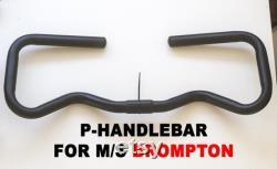 Mini Type P Guidon pour BROMPTON S M Type Stem BLACK
