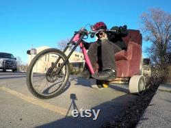 Paire de 2 manches en PVC pour drift trike wheels 10 et 11 diamètre