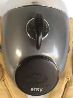 Phare vintage avec trou de jauge et clé d'allumage, Vintage CEV TIPO 105 Bike Headlight.