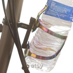 Porte-tige de bouteille d eau and Cage pour vélo pliant BROMPTON Rainbow