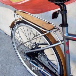 Porte-vélos inox personnalisé