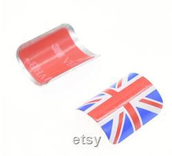 Protecteur de cadre triangle arrière en aluminium pour BROMPTON 1.8g seulement Union Jack British Flag