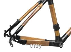 ROAD Loma Bamboo Bicycle Frame (700c Road Cycling)
