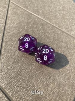 Rollin Twenties d20 Valve Stem Caps (paire)