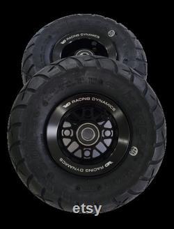 Roues à billettes RS1 avec pneus pour Goped GSR Bigfoot GTR Noir