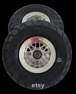 Roues à billettes RS1 avec pneus pour Goped GSR Bigfoot GTR poli