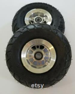 Roues et pneus ensemble pour Goped GSR GTR Riot Bigfoot poli ESR Aluminium