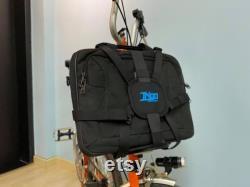 Sac Frame Rack Pack Straps pour BROMPTON (Convertir votre sac en bagages Brompton)