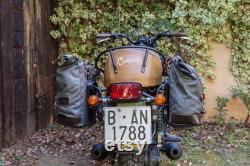 Sac à selle Bariloche 25 litres Picual Green, Smoked Black ou Safari beige.