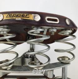 Selle en cuir Core unique, siège de vélo vintage, selle de vélo en cuir véritable antique, selle de siège de vélo vintage, selle de vélo à l ancienne