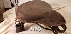 Siège de bicyclette antique antique Troxel siège de bicyclette antique cycle antique cuir antique paperboy antique
